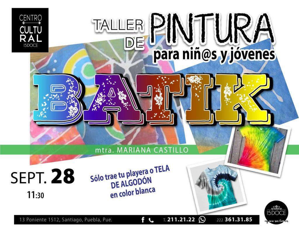 15DOCE pintura Batik