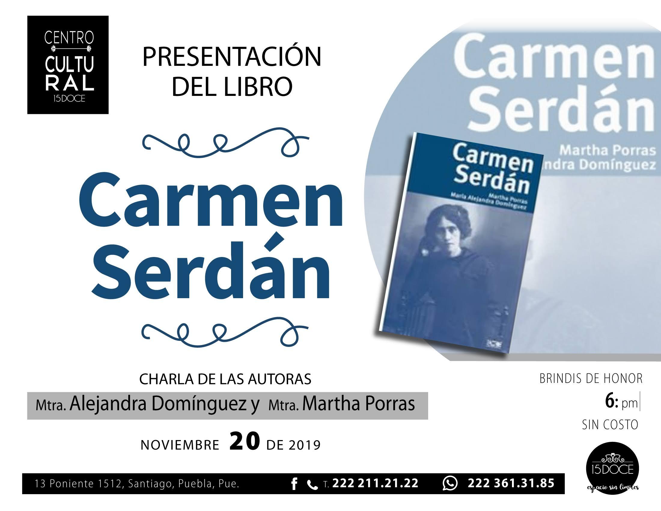 15 DOCE libro Carmen Serdán_20 noviembre